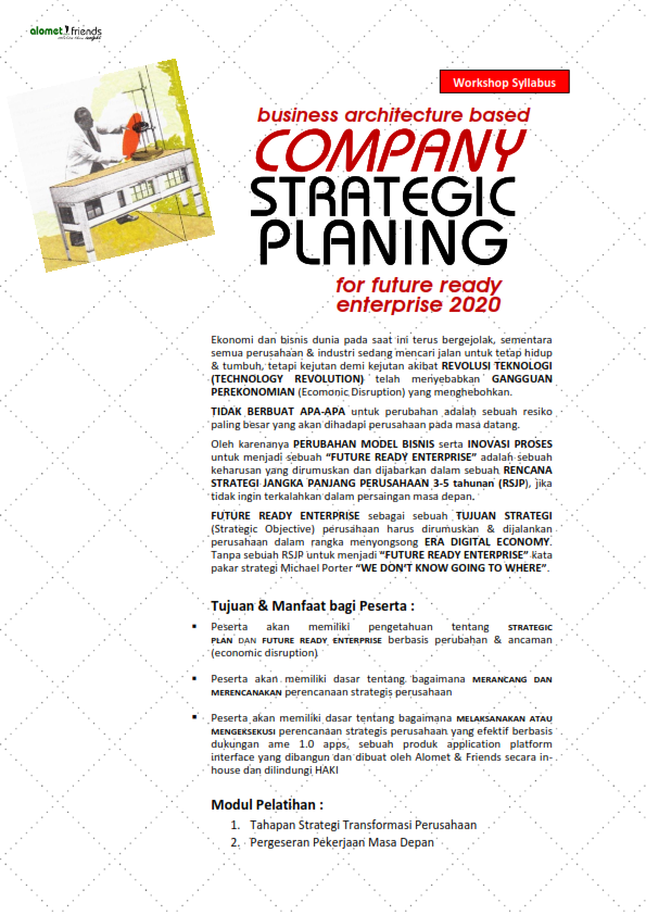 Silabus <br> <b>COMPANY STRATEGIC PLANING</b>