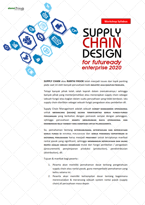 Silabus <br> <b>SUPPLY CHAIN DESIGN</b>
